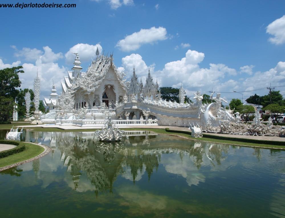 El Ying y el Yang de Chiang Rai: el Templo blanco y la casa negra