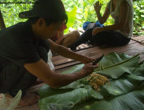 Luang NamTha: mi primer trekking, mi estómago y la visita a la tribu Lahú