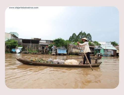 Los mercados flotantes de Can Tho