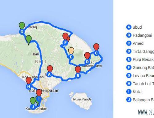 La mejor ruta de 10 días en Bali