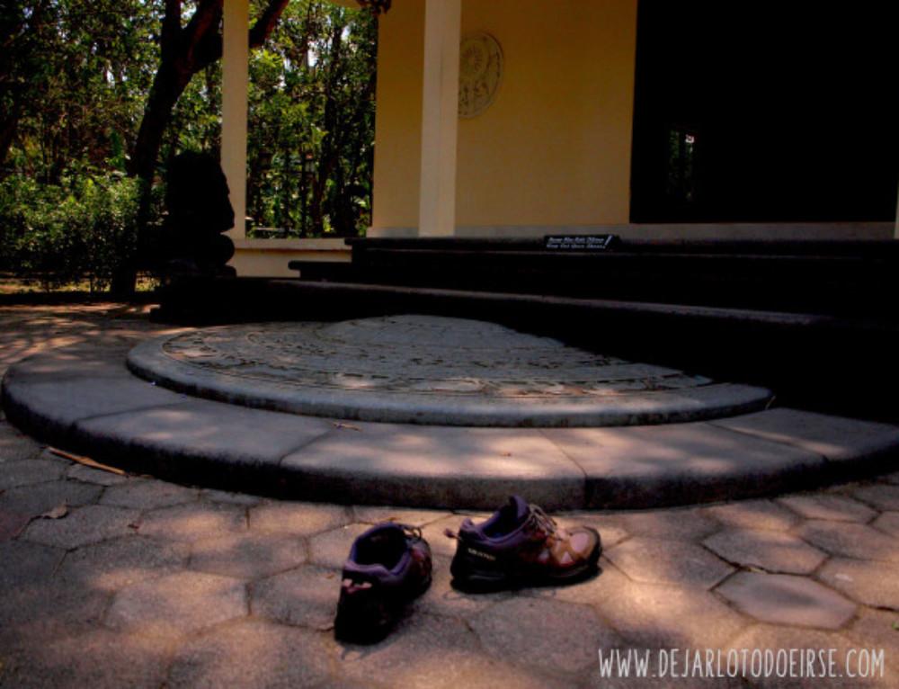 Vihara Mendut y mi introducción a la meditación
