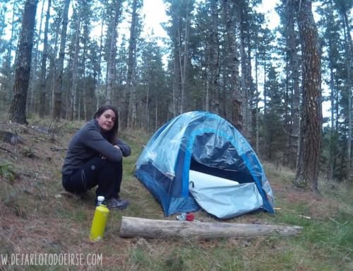Mi fracaso: acampar sola, y qué aprendí de él