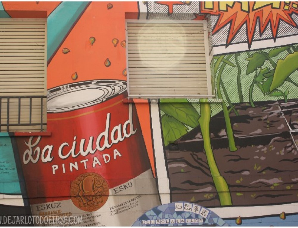 Un fin de semana en Vitoria: murales, sol y reencuentros